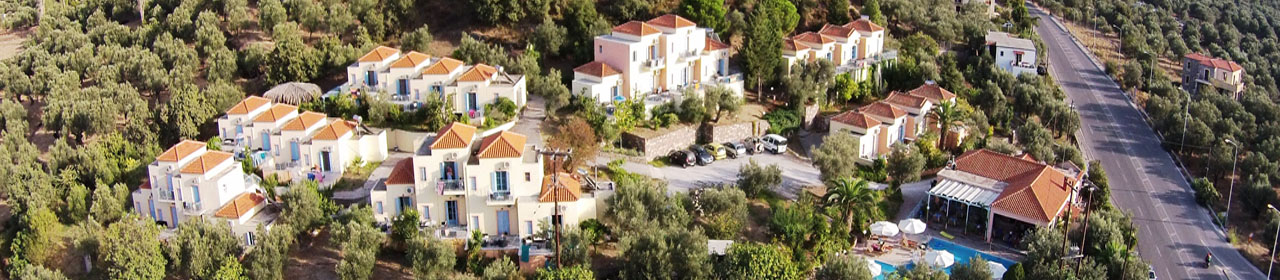 LESVOS HOTELS APARTMENTS LOCATION wide